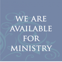 We are Available for Ministry